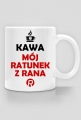 Kawa - mój ratunek z rana One