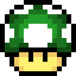 Mario 1UP WSZYSTKIE KOLORY