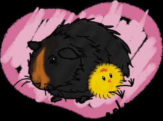 Grunio love