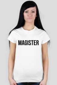 T-shirt 'MAGISTER'