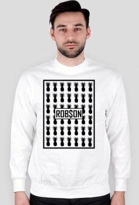 Rob$on - Biała bluza