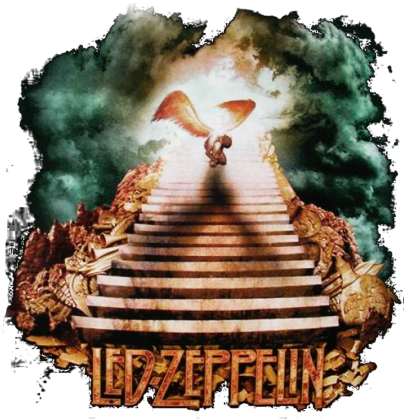 LED ZEPPELIN stairway to heaven damska