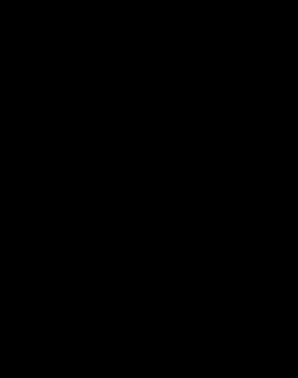 Zodiak - Ryby - czarna kreska