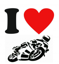 Kubek I Love Motorcycles