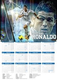 Kalendarz RONALDO 2015