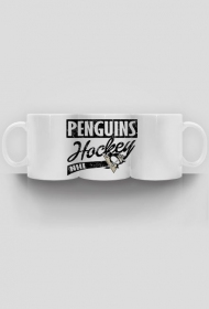 "Kubek ""Penguins hockey"""