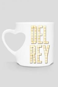 "Kubek serce ""Del Rey"""