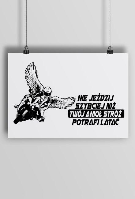 Plakat motocyklowy v2