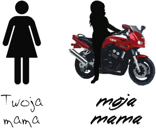Moja mama jest motocyklistką 2