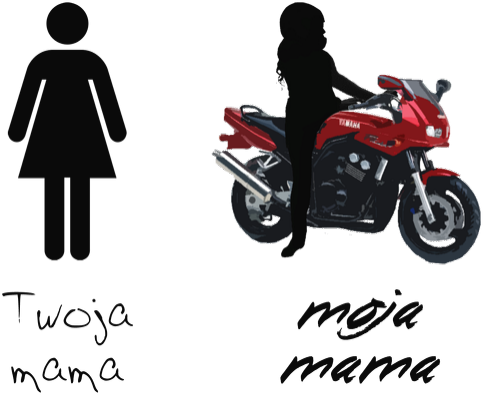 Moja mama jest motocyklistką 2 -1