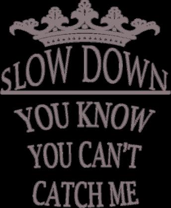 "Bluza KING ""Slow down"""