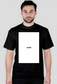 Czarno na białym t-shirt