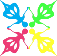 Kolorowe dziołchy