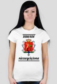 Koszulka - Warszawa, zawsze niezwyciężona