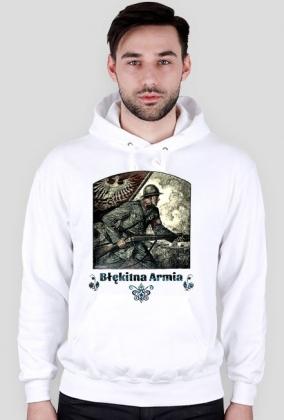 Bluza z kapturem - Błękitna Armia