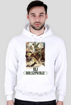 Bluza z kapturem - Bij Bolszewika