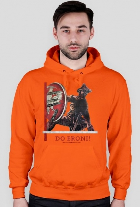 Bluza z kapturem - Do broni!