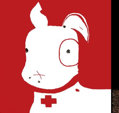 TShirt Pies Max (Dziewczynka) Biała