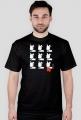 TShirt Pies Max 3x3 B/W (M) Czarna