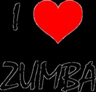 Bawełniana torba - I Love Zumba