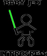 Baby Jedi - koszulka damska oversize