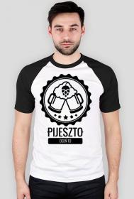 Koszulka PijeszTo z rękawami w kolorze