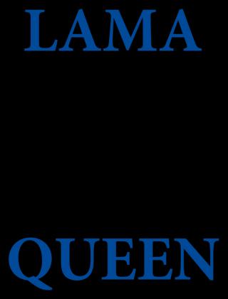 Lama Queen by Shantee # poduszka