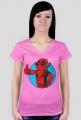 GeekWear - deadpool fallout - koszulka damska
