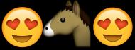 Emoji Horse bokserka