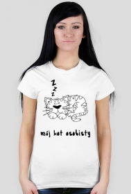 "koszulka "" mój kot osobisty"""