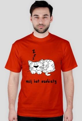 """koszulka """" kot osobisty"""""""