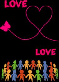 """Koszulka """"love"""" woman"""