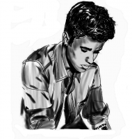 Justin drawing męska