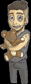 Zayn Teddy Bear damska