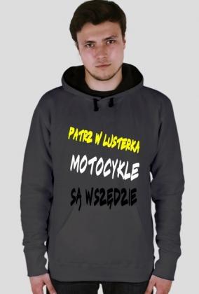 bluza z kapturem motocykle sa wszedzie