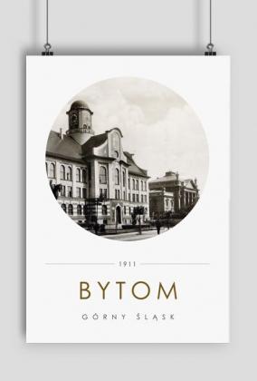 Plakat Bytom 1911