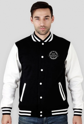 Modern Retro Vintage Badges PatrioticWear Jacket College (Man)