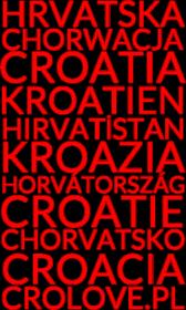 Koszulka Chorwacja czerwony tekst