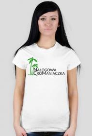 Damska koszulka Nałogowa CroManiaczka