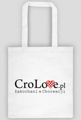 Torba CroLove.pl biała