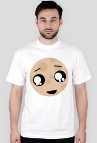 Biały ciasteczkowy T-Shirt