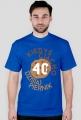 Koszulka urodzinowa - Kiedyś ciacho dzisiaj piernik 40