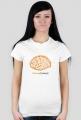 Koszulka damska Mózg czytelnika