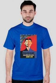Koszulka RAWA LUX - niebieska