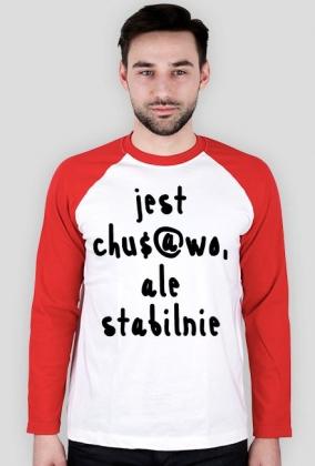 Koszulka Neurotyk - Jest chu$@wo ale stabilnie