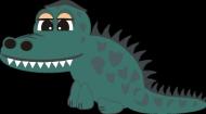 Body dziecięce - krokodylek