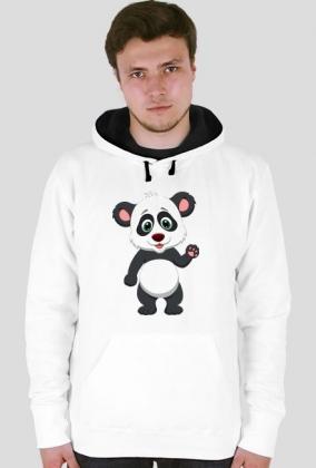 "Bluza z kapturem ""Panda"""