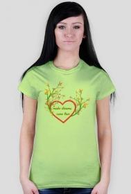 T-shirt- dreams