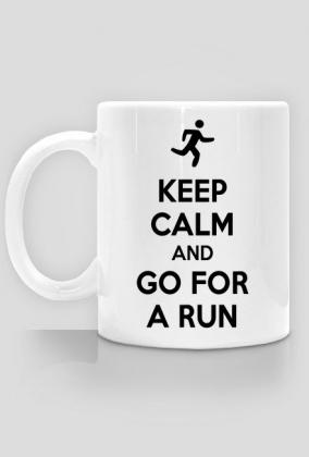 Kubek dla biegacza. Keep Calm.