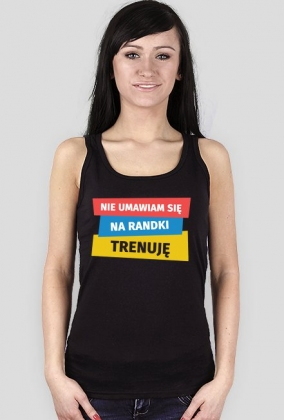 Koszulka dla biegaczki. Nie umawiam się na randki.